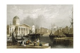 Canning Dock in Liverpool Giclee Print