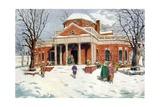 Monticello Giclee Print