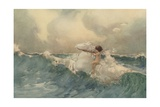The Wave Child Giclee Print