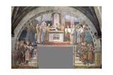 Oath of Pope Leo Iii Giclee Print by  Raphael