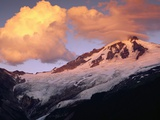 Coleman Glacier and Mount Baker Photographic Print by Paul Souders