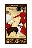 Poster for the 1902 Chicago Kennel Club Dog Show Giclee Print