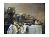 Naturaleza muerta Lámina giclée por Pieter Claesz