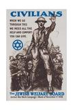 Jewish Welfare Board Poster Giclee Print