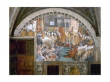 The Coronation of Charlemagne Impression giclée par  Raphael