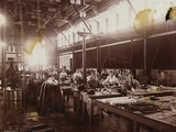 Female Employees at Schenectady Factory Photographic Print