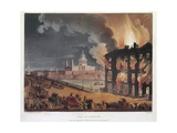 Fire in London Giclee Print