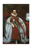 James I, King of England and Scotland Giclee Print