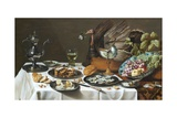 Still Life with Turkey Pie Giclee Print by Pieter Claesz