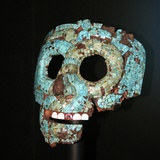 Aztec or Mixtec Mask of Quetzalcoatl Photographic Print