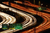 Rush Hour Traffic on Interstate 5 Photographic Print by Paul Souders
