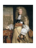 Portrait of Sir John Robinson Giclee Print by John Michael Wright