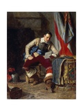 The Standard Bearer Giclee Print by John Seymour Lucas