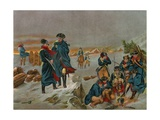 General George Washington and Lafayette at Valley Forge Giclee Print
