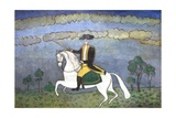 George Washington on Horseback Giclee Print