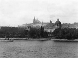 Hradcany Hill in Prague, Czechoslovakia Photographic Print