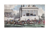 George IV and the Duke of York at the Royal Stand, Ascot Giclee Print