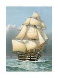HMS 'Victoria' Stampa giclée