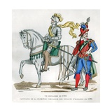 Gendarme, 1583, and Captain of the 1st Company of the Enfants D'Honneur, 1596 Giclee Print