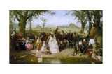 A Summer Day in Hyde Park Giclee Print by John Ritchie