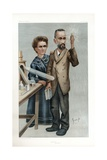 Pierre and Marie Curie Giclee Print