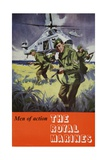 Men of Action: Royal Marines Poster Giclee Print