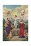 Holy Family Postcard Giclee Print