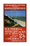 London, Tilbury and Southend Railway Poster Giclee Print