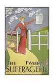 Poster for the Suffragette Newspaper Giclee Print