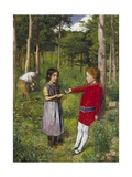 The Woodman's Daughter Giclee Print by John Everett Millais