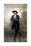 The Skater (Portrait of William Grant) Reproduction procédé giclée par Gilbert Stuart