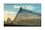 Giant Coaster, Brighton Beach N.Y. Postcard Giclee Print