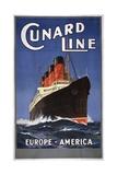 Cunard Line Poster Giclee Print