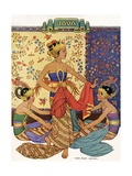 Three Javanese Dancers Giclee Print