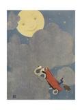 Mr. Moon's Postman Giclee Print