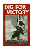 Dig for Victory Poster Giclee Print