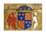 Coat of Arms of King Henry VII of England Giclee Print