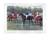 The Derby Favourites Giclee Print