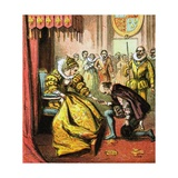 Queen Elizabeth and Shakespeare Giclee Print