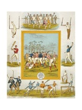 Cricket Players Giclee Print