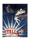 Vintage Pétrole Stella Poster Giclee Print