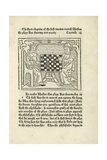Woodcut Print of a King and Prelate Playing Chess Giclee Print