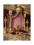 Throne Room in the Palace of Fontainebleau Giclee Print