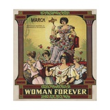 Woman Forever Sheet Music Cover Giclee Print