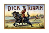 Dick Turpin Board Game Box Giclee Print