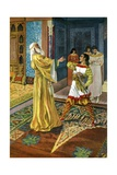 El Cid Avenging the Death of His Father Giclee Print