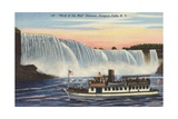 Maid of the Mist at Niagara Falls Giclee Print