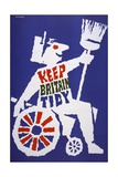 Keep Britain Tidy Poster Giclee Print