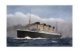 White Star Line Ocean Liner 'Titanic', 1912 Giclee Print