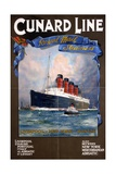 Cunard Line Royal Mail Steamer Poster Giclee Print
